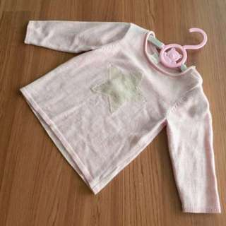 H&M baby girl 9-12 months long sleeve