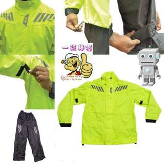 2401*** Givi Raincoat RRS05 NEON YELLOW 🤣🤣Thanks To All My Buyer Support 👌👌