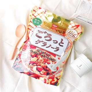 «Kimi Shop» 日本➜預購 日清季節限定焦糖堅果大包裝