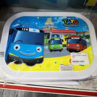 50% off rrp!! Tayo Lunch Box Tray with Bag!