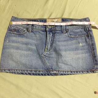 Hollister Maong Skirt