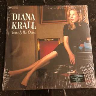 Diana Krall - Turn up the quiet. Vinyl Lp. New