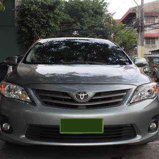 Toyota Corolla Altis 2013 1.6G M/T (40K-50K Mileage) + Free Car Cover and DashCam