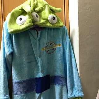 迪士尼 三眼怪睡衣