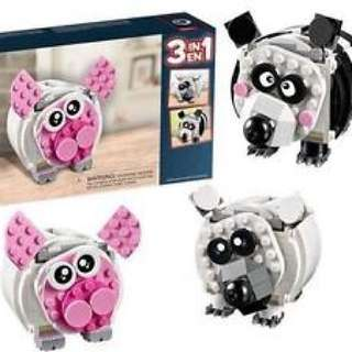 LEGO Creator Mini Piggy Bank 3-in-1 Limited Edition