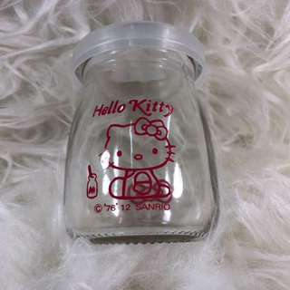 Hello Kitty Glass Storage (3oz)