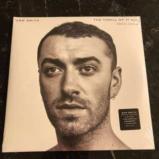 Sam Smith - The thrill of it all. Special edition. Vinyl Lp. New