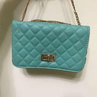 Tiffany 綠的小包包