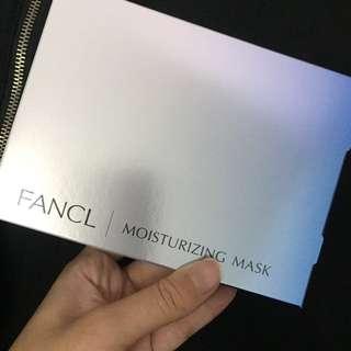 Fancl moisturizing mask (6pcs)