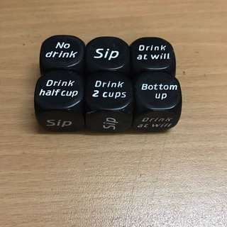 Party Drinking Game Dice