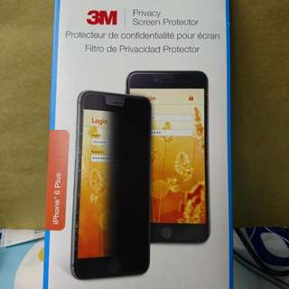 3M Privacy Screen Protector for iPhone 6 Plus