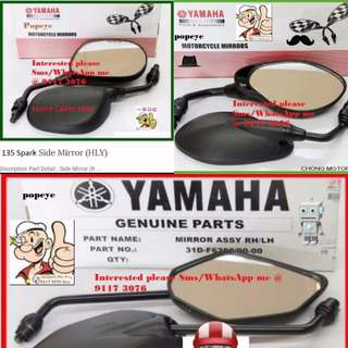 2401** YAMAHA Genuine Parts **Side Mirror** Spark, FZ16, Jupiter MX, SNIPER 150, Etc....