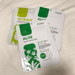 inoface essence mask sheet aloe and vitamin