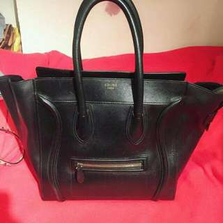 Celine Black Color Handbag Authentic  95% New  Serius Buyer Only