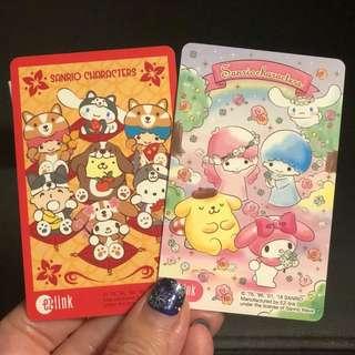 Sanrio CNY and Valentine Ezlink Card