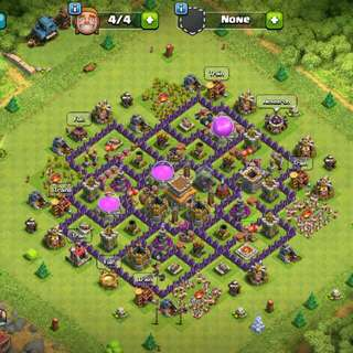 Selling clash of clans account