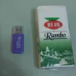 Micro SD    card reader     讀卡器