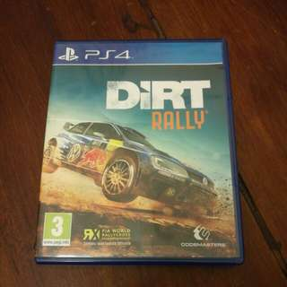 Durt rally PS4