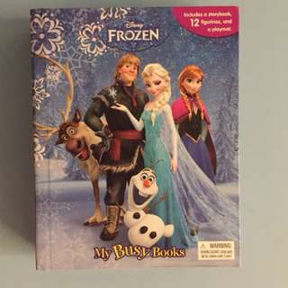 Frozen busy book