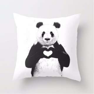 """""""All You Need Is Love"""" Throw Pillow Cushion Cover"""