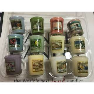 Yankee Candle Votives (Assorted)