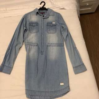 7 for all mankind denim dress (BRAND NEW)