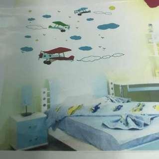 Wall sticker - aeroplane
