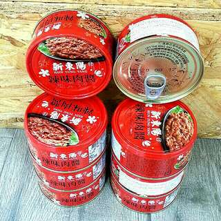 新東陽-辣味肉醬/3罐