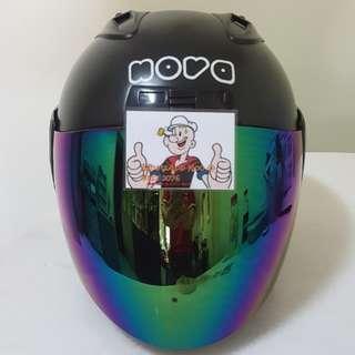 2401*** Nova Helmet For Sale 😁😁Thanks To All My Buyer Support 🐇🐇 Yamaha, Honda, Suzuki 2