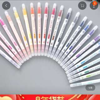 Korean colour pen