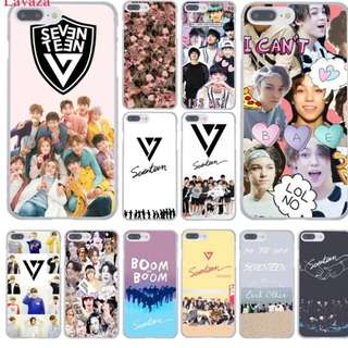 😍 kpop Seventeen Phone Case for Apple iPhone 8 7 6 6S Plus X 10 5 5S SE 5C 4 4S