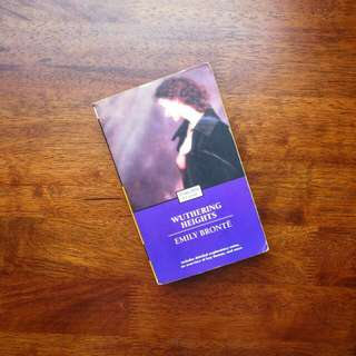Wuthering Heights by Emily Bronte (paperback)