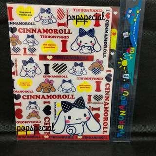 Cinnamoroll Red Ribbon File Folder 3 slots