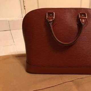 LV Alma Epi Leather