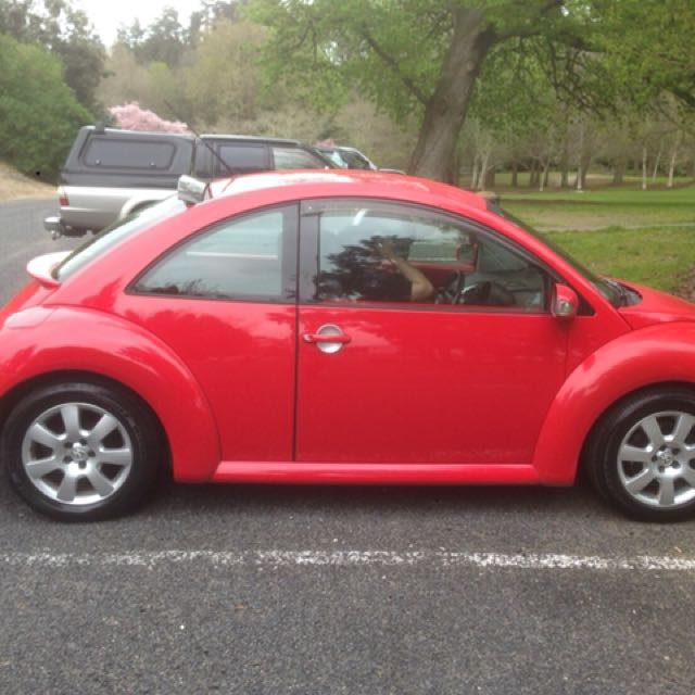2006 VW  Beetle, Red, Turbo.