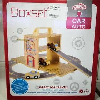 50% off rrp!! Boxset Wooden Toys! Cars set