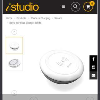 Devia wireless charger (fast charging)