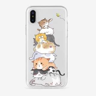 Iphone Emoticats Soft Case
