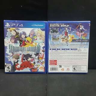 [BN] PS4 Digimon Next Order (Brand New)