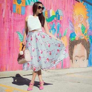 DL- Korean Terno (Top+Skirt)