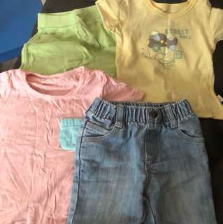 Preloved boys clothes to giveaway