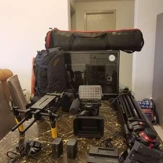 SONY 4K CAMCORDER FDR-AX1 FULL SET (Full Package)