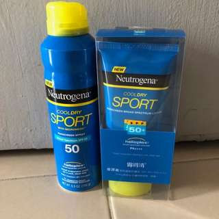 Neutrogena Sunblock (Spray & Lotion)