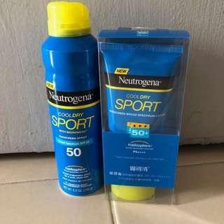 Neutrogena Sunblock (Spray ONLY)