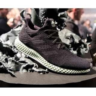 Adidas Futurecraft 4D Core Black Green OG
