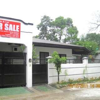 3bdrm house & lot