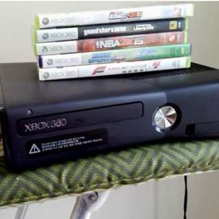XBOX 360 4gb (No Controller) (not Jtag)