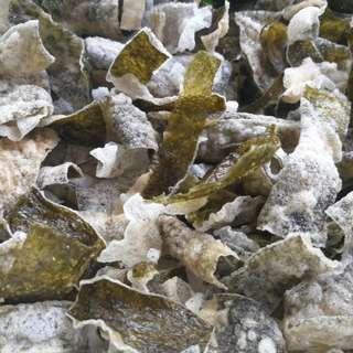 Gluten & soy free seaweed crackers