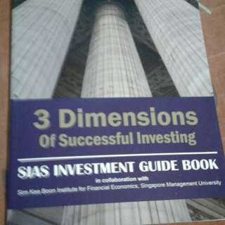 3 Dimensions to Successful Investing