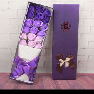 Best Valentine's Day gift, Romantic soap flowers